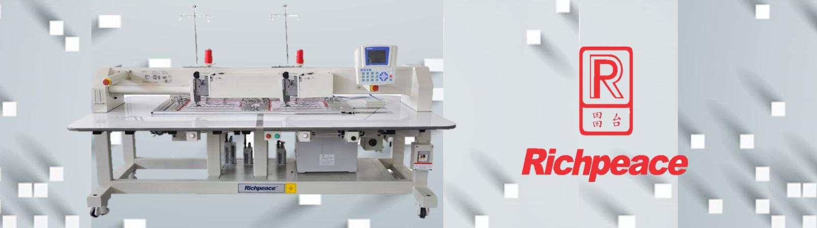 Máquinas de costura programada